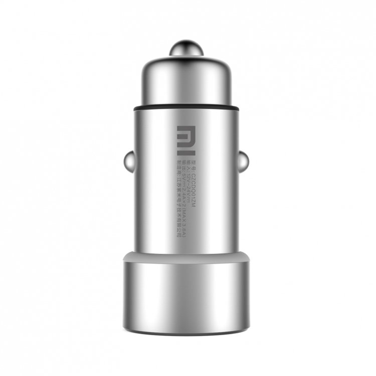 100 Original XIAOMI MI car charger 5V 3 6A dual car charger for xiaomi iphone samsung