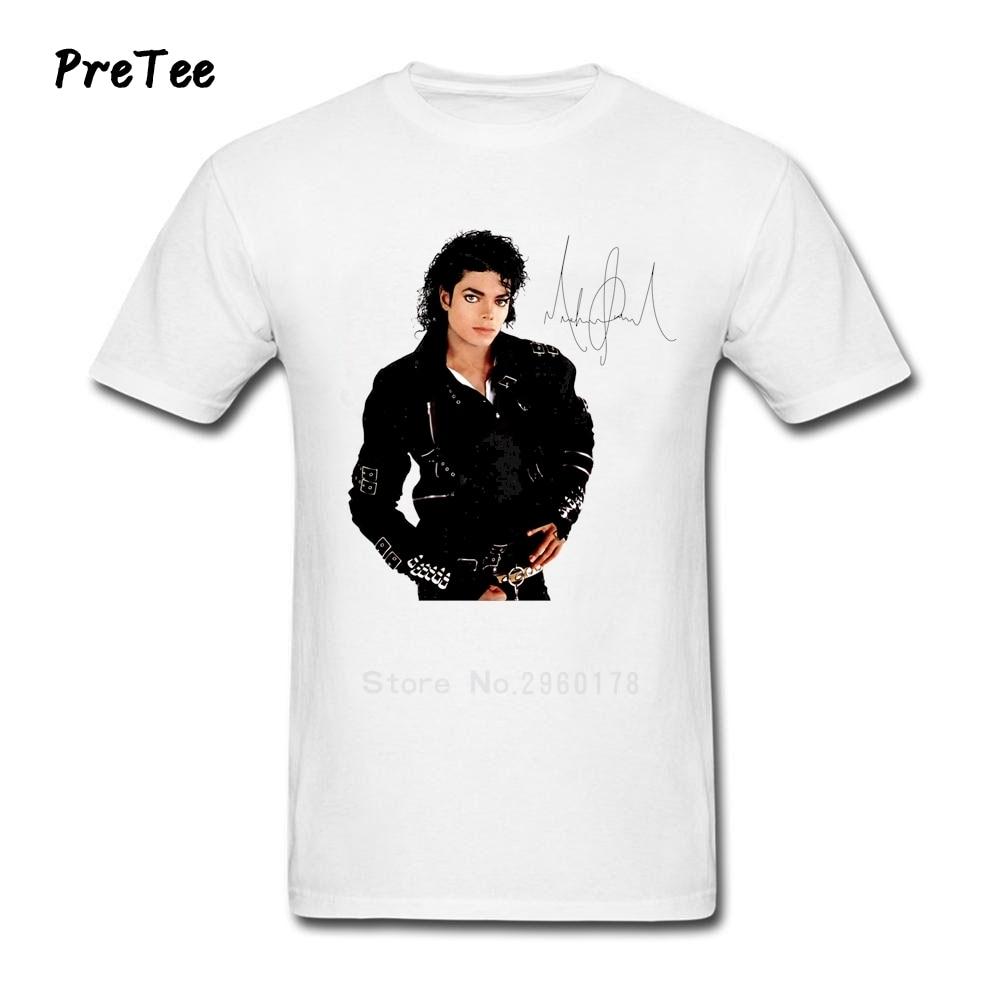 Black t shirt michaels - Michael Jackson T Shirt Man S Pure Cotton Man Short Sleeve Men O Neck Boy Tshirt Teen