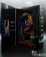 Alien vs Predator Chestbuster Toys Alien Queen Double Color Anime Movable Toys Action Figure Alien vs Predator