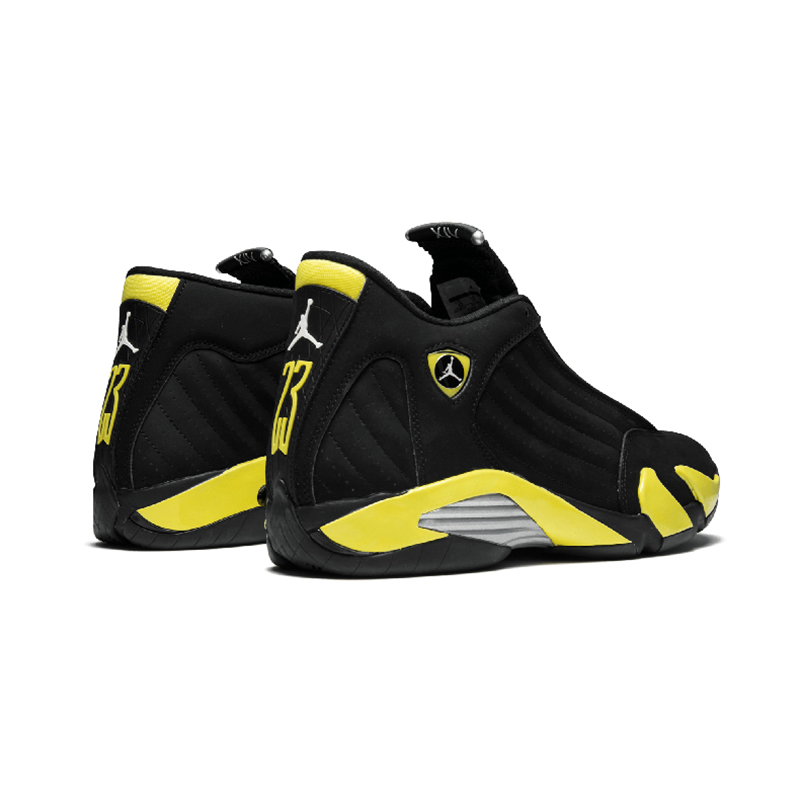 Original Authentic NIKE Air Jordan 14 Retro Men's Basketball Shoes Sport Outdoor Sneakers Medium Cut Lace-Up Good Quality 487471 74