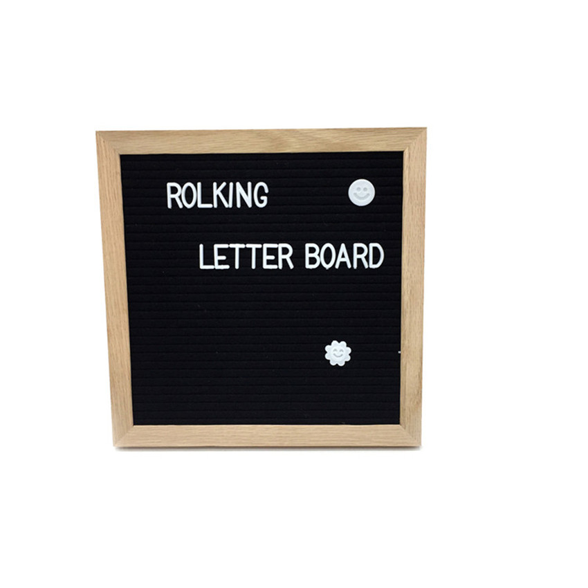 Changable Felt Letter Board with 360 Letters Numbers Symbols 10x10 ...