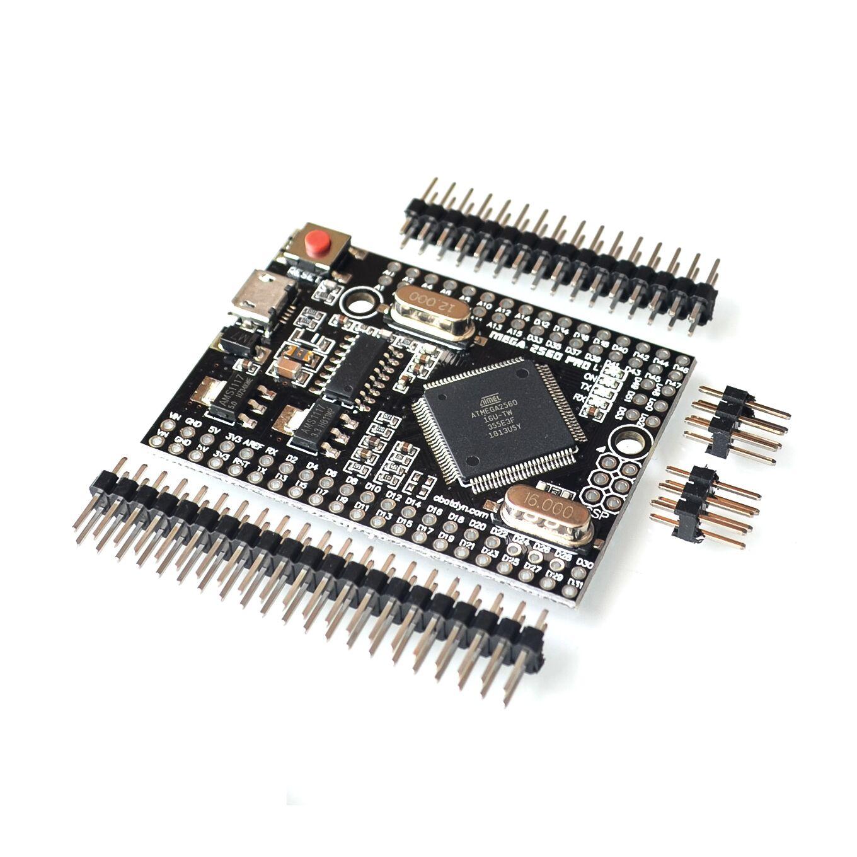 MEGA 2560 PRO Embed CH340G/ATMEGA2560-16AU Chip mit männlichen pinheaders Kompatibel für Arduino Mega 2560