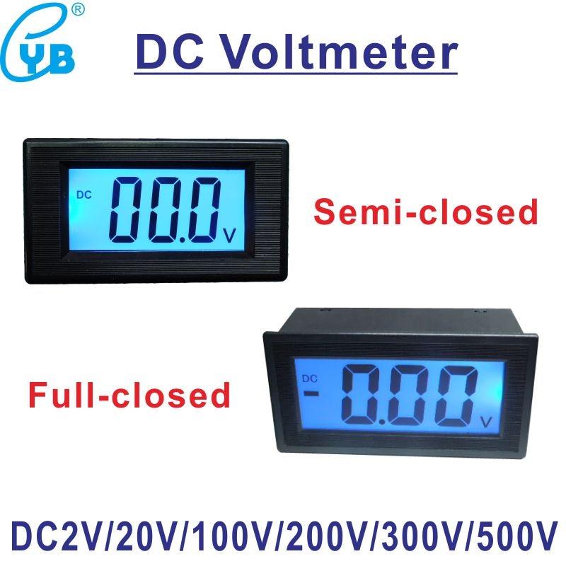 3 1/2 DC 2V Voltage Meter Three Wires LCD Digital Voltmeter Voltage  Wire Yb D Voltage Meter Wiring Diagram on