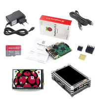 NEW Raspberry Pi 3 Starter Kit Raspberry Pi 3 Model B 3 5 Inch Touchscreen 16G