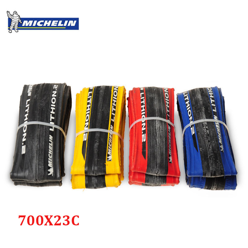 Michelin LITHION 2 Road Bike Tires 700 * 23C Anti Puncture 230g 700C Tyre Bicycle Folding Tire michelin pro4 service course bicycle tire