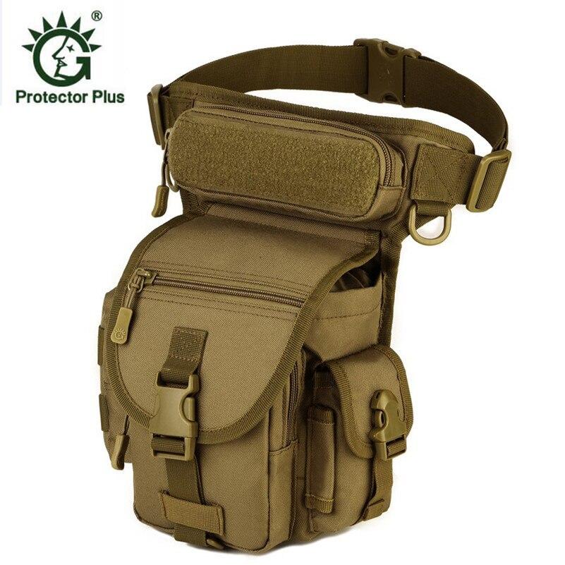 Nouveau sac de jambe pour hommes sac de taille en cours d'exécution Camping Sport sacs multi-usages épaule Messenger sacs 2019 livraison gratuite D039