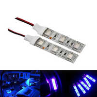 "2PC 1.97 "" 5CM 3 SMD LED Light strip 12V Car Courtesy stereo Glove box under dash devil demon eyes LED strips module headlights"