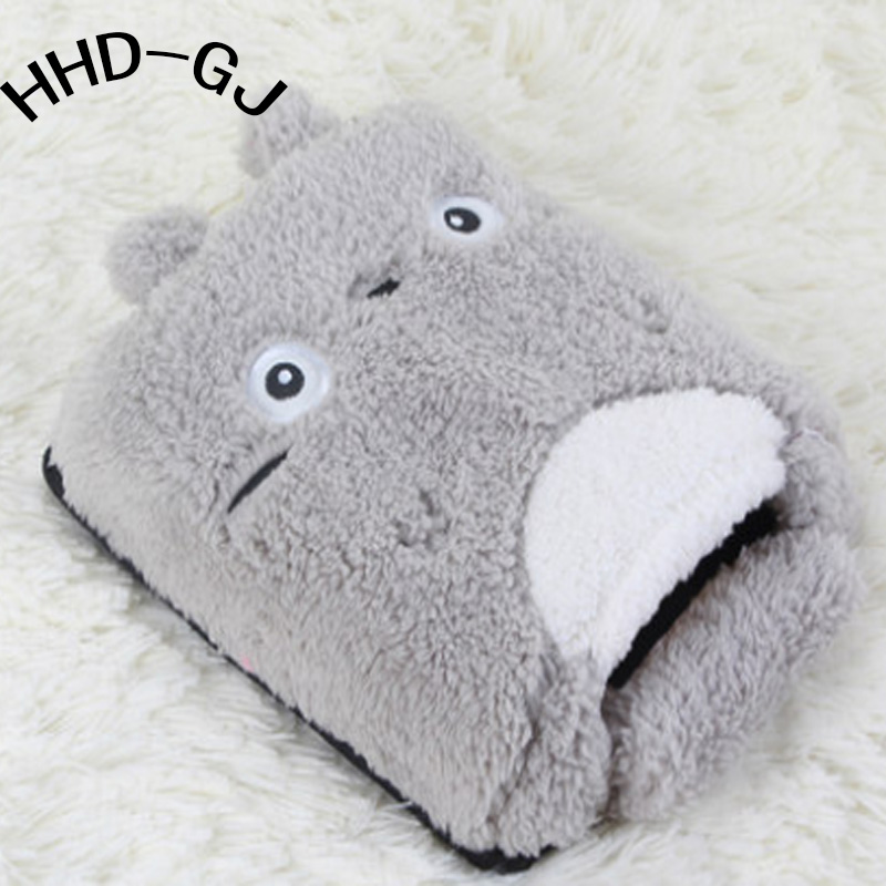 HHD-GJ Winter Warm Mouse Pad Thick Cartoon Plush Hand Warmer Heated Mouse Mat USB