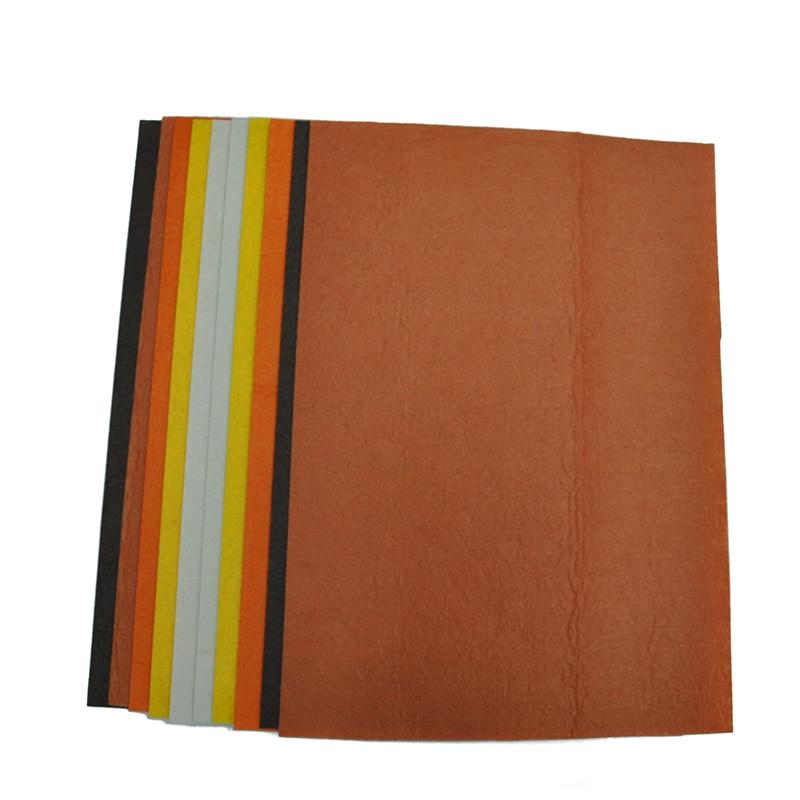 QITAI 10 pcs / lot Non Woven Kain 2 MM Tebal Polyester Merasa Lembar - Seni, kerajinan dan menjahit