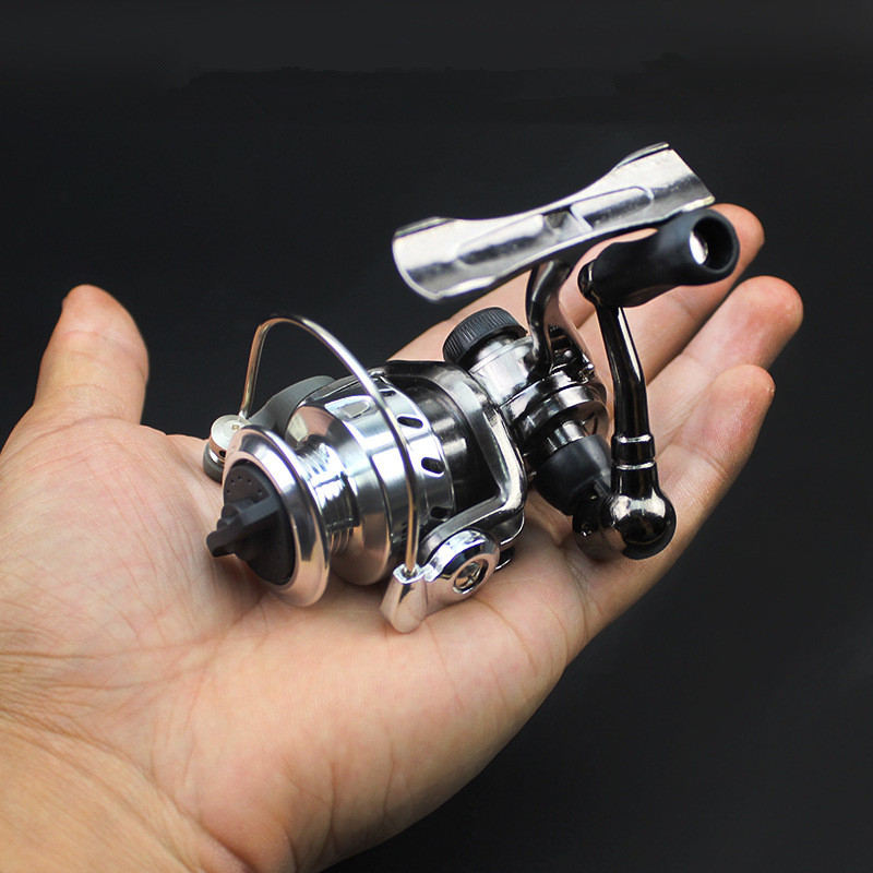 Ice fishing reel mini spinning reels small zinc alloy all for Ice fishing reels