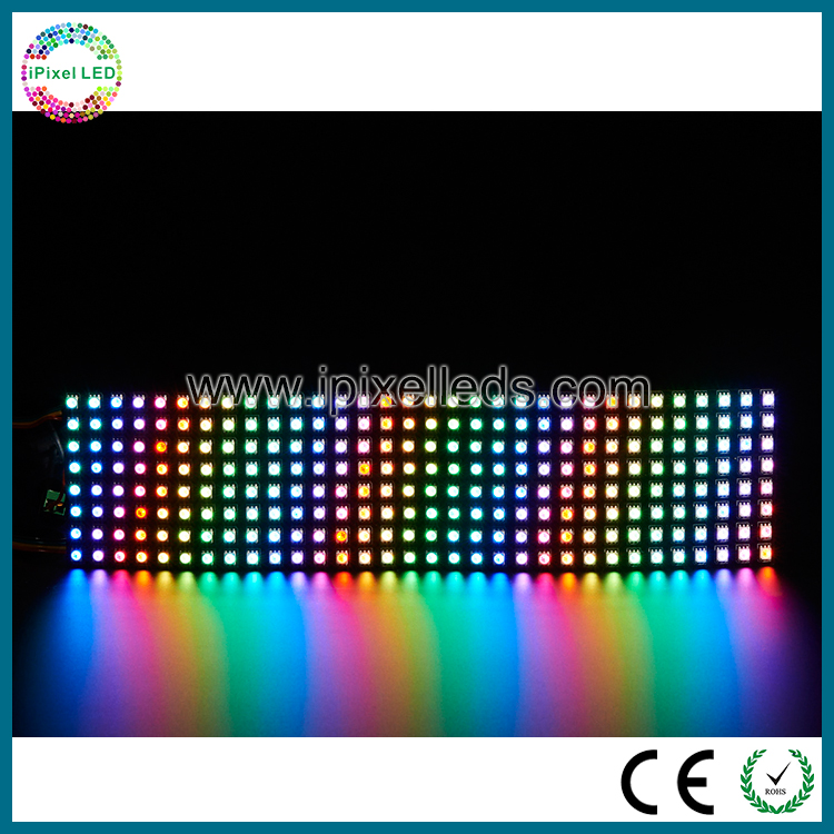 Apa102 direccionable LED mini flexible LED mensaje tablero de la muestra pantalla