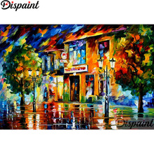 Dispaint Full Square/Round Drill 5D DIY Diamond Painting Colored oil painting3D Embroidery Cross Stitch Home Decor Gift A12382