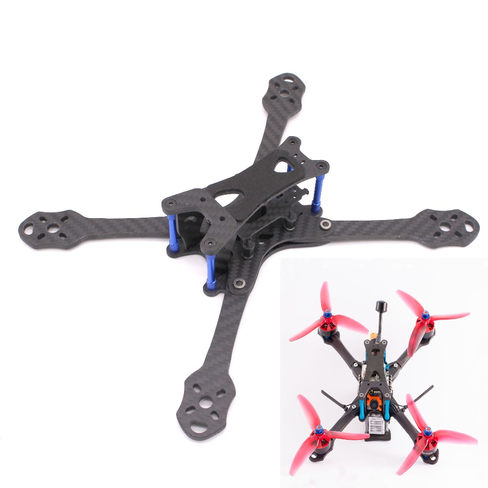 PUDA TrueXS (STRETCHED X) 5 FPV Racing Quadcopter Drone Frame 4mm Arm For AstroX TrueXS FPV Racing Drone