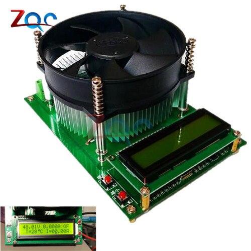 150W Constant Current Electronic Load 60V 10A Battery Tester Discharge Capacity Tester meter 12V 24V 48V Lead-acid lithium цены