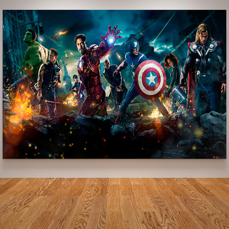 5D Diamond peinture AVENGERS INFINITY WAR Marvel Super-héros Plein Perceuse broderie