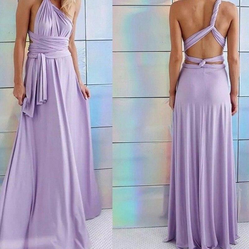 Chiffon Infinity Dress: Aliexpress.com : Buy Chiffon Halter Long Dress Sexy Women
