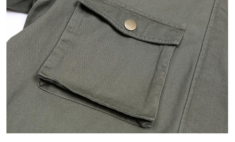 éclair manches poches longues 9