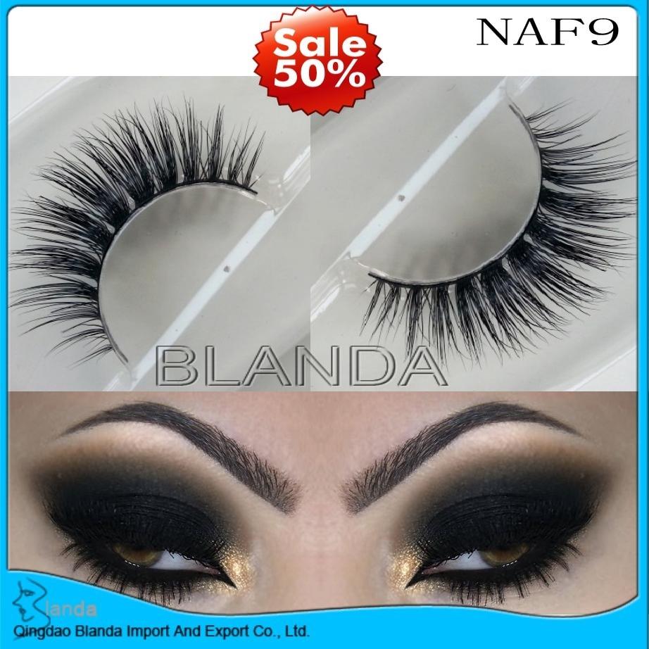 cc62e51c2fb UPS Free Shipping New 30 pair 3D mink eyelash wholesale 100% real mink fur  Handmade crossing lashes individual strip ...
