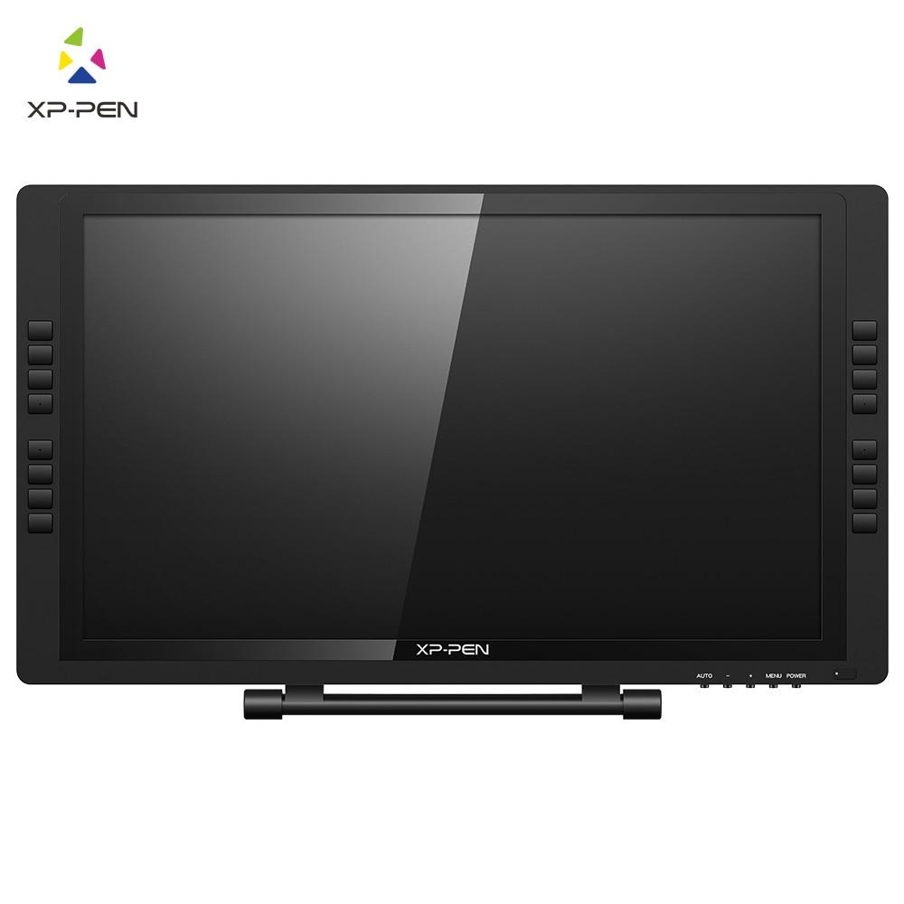 Xp-pen 22E Pro HD IPS pluma Monitor tableta de dibujo de gráficos con teclas Express para la izquierda y mano derecha