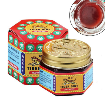 1pc 100% Original Tiger Balm Ointment Insect Bite Strength Pain Muscle Relieving Arthritis Joint Body Pain Thailand Painkiller