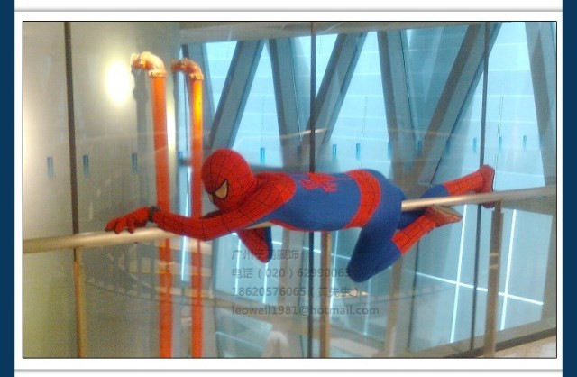 DB23580 Adult spiderman costume-11