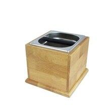 Кофейный набор, кофейный порошок, коробка шлака, порошок, шлак, бочка, нержавеющая сталь, твердая древесина, кофе, набор емкостей для порошка