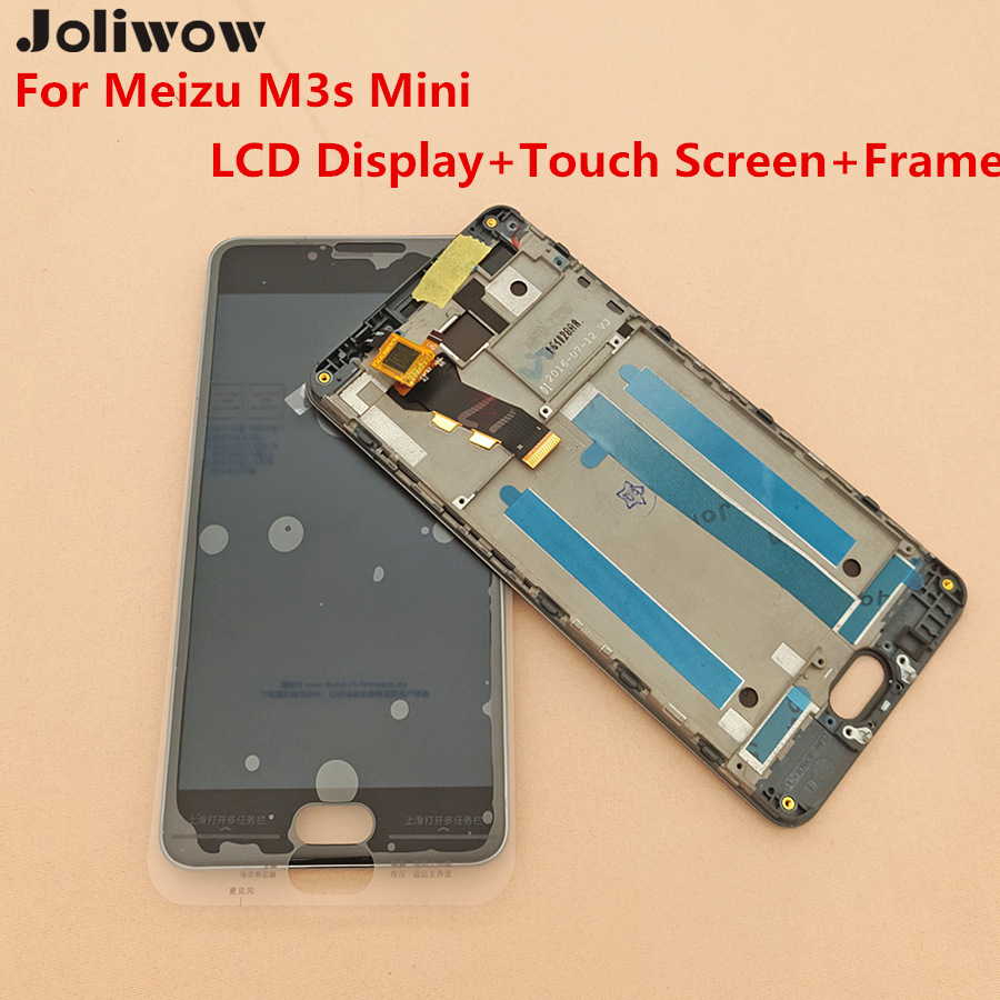 Tested For Meizu M3s Mini Meizu m3s LCD Display Touch Screen Screen Frame Digitizer Assembly Replacement