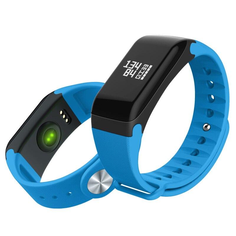 2pcs lot HUACP R3 Smart Bracelet Bluetooth 4 0 Sport Pedometer Smart Wristbands Heart Rate Monitor