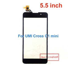 5.5 inch ToP Quality umi c1 mini Touch Screen Digitizer For UMI Cross Vinus C1 MiNi Outer Glass PanelCellphone Repair Parts