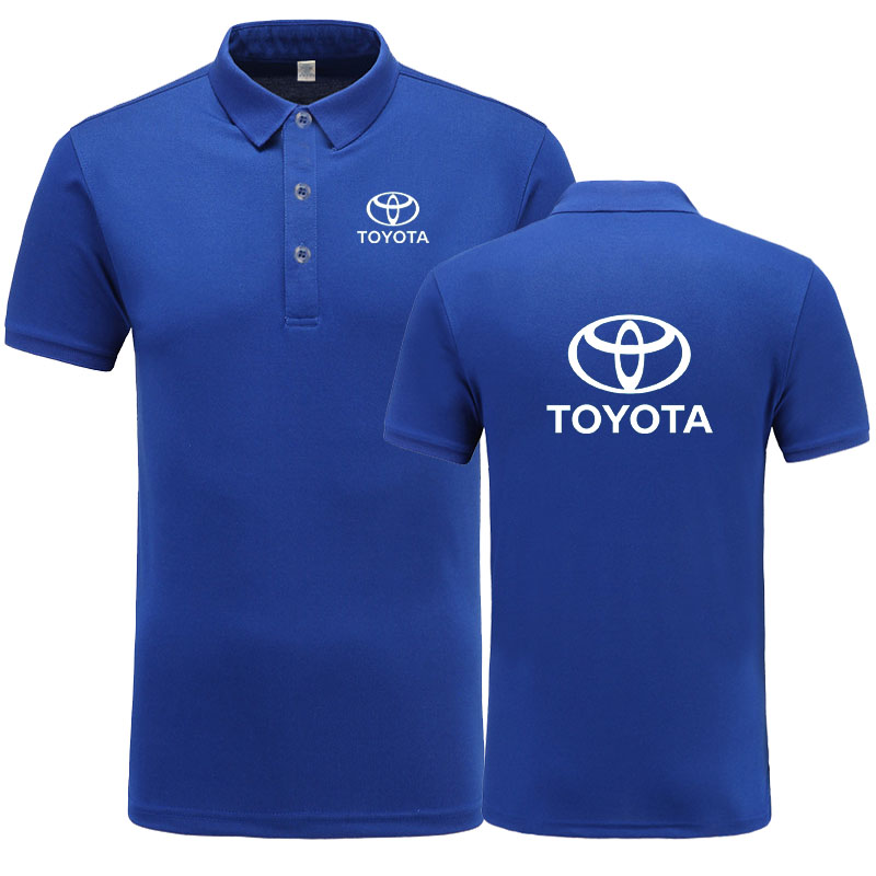 New Arrival Brand Clothing Men logo   Polo   Shirt Casual Male Toyota   Polo   Shirt Short Sleeve   Polo   Shirt