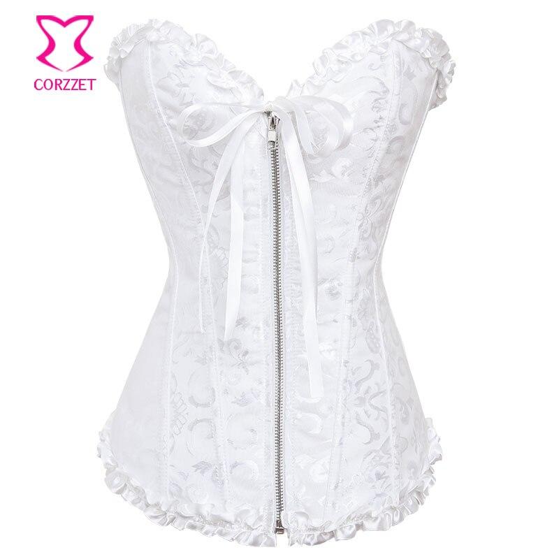 Online get cheap sexy wedding lingerie for Wedding dress corset bra