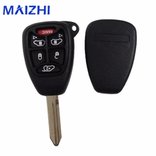 maizhi (5+1) 6 Buttons Remote Car Key Shell Cover FOB For CHRYSLER Town & Country Grand Caravan Sebring Dodge Jeep With Pad