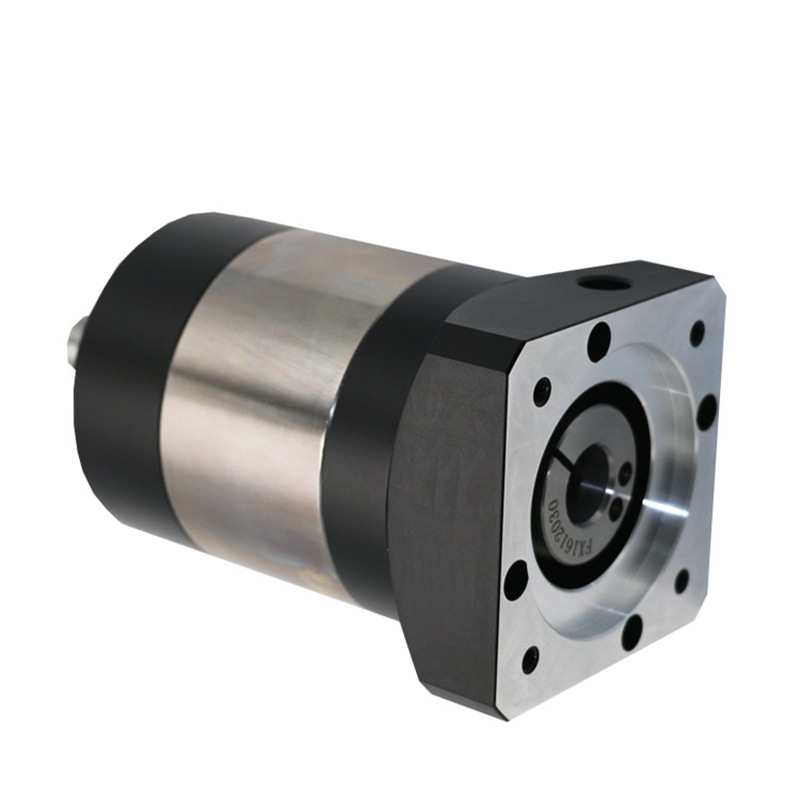 Round flange 120 planetary gear reducer 7 arcmin Ratio 3:1 to 10:1 for 130mm AC servo motor input shaft 24mm high precision helical planetary reducer gearbox 5 arcmin ratio 10 1 for 40mm 50w 100w ac servo motor input shaft 8mm