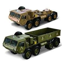 1/12 8X8 грузовик с дистанционным управлением 2,4 ГГц rc США военный грузовик водонепроницаемый, rc автомобиль Размер: 74x22x24 см