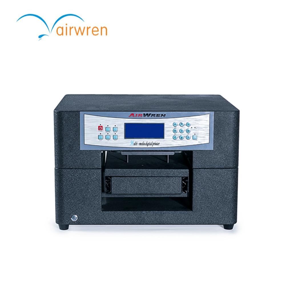 a4 digital t shirt printing machine dtg printer for fabric high quality dtg flatbed printer small size textile t shirt printing machine