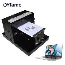 OYfame A3 DTG Printer Flatbed T Shirt Digital Garment Printer Print Dark Light Color flatbed Printer