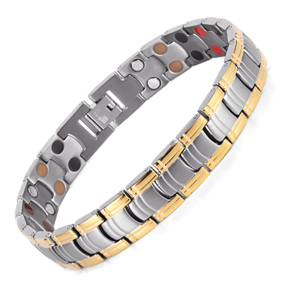 How Does This Golden Dots Magnetic Bracelet Work Here We Go For Explanation