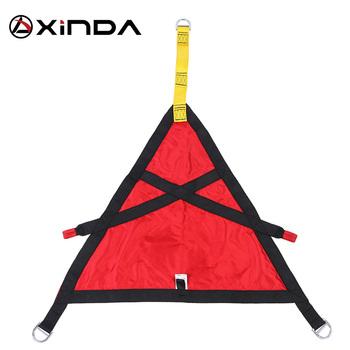 XINDA Professional Outdoor Fire Protection Rescue trójkąt pas bezpieczeństwa dla dzieci mężczyźni kobiety uprzęże z wyposażeniem ochronnym tanie i dobre opinie CN (pochodzenie) Polyester 920g