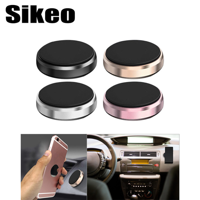 Magnetic Cell Phone Mount >> Us 1 29 49 Off Auto Car Magnetic Mobile Phone Holder Car Dashboard Mobile Bracket Cell Phone Mount Holder Stand Universal Magnet Wall Sticker In
