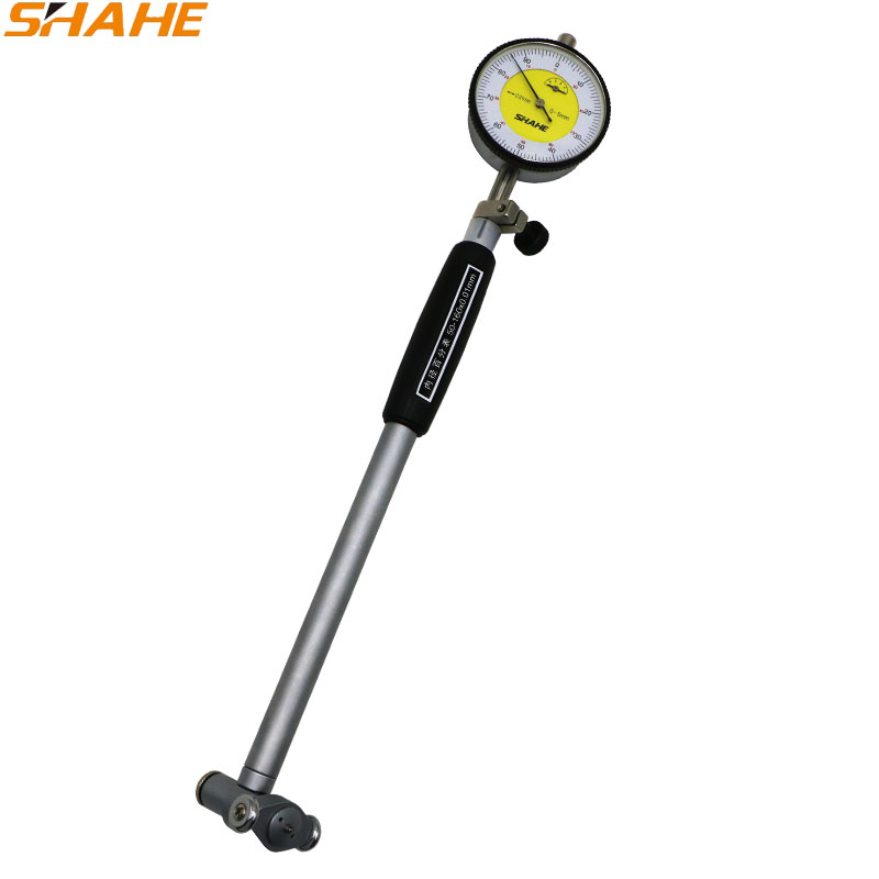 SHAHE high quality  Dial Indicator Bore Gauge 50-160mm Hole measurement CNC