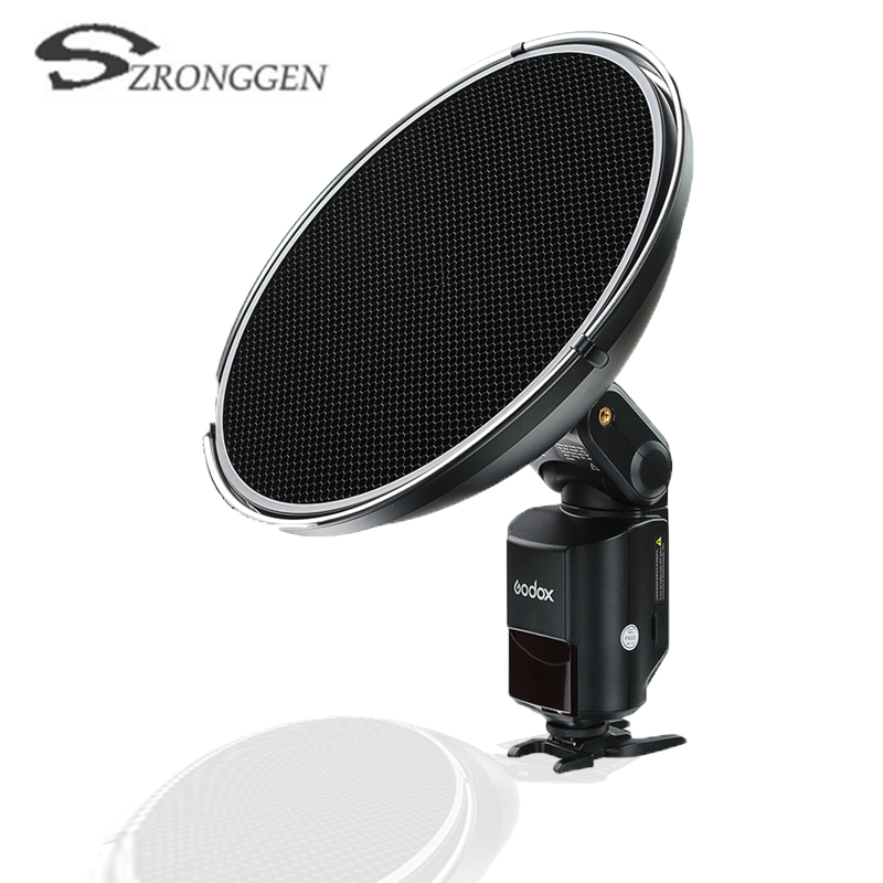100 Original Godox Beauty Dish with Grid AD S3 for WITSTRO Speedlite Flash AD 180 AD
