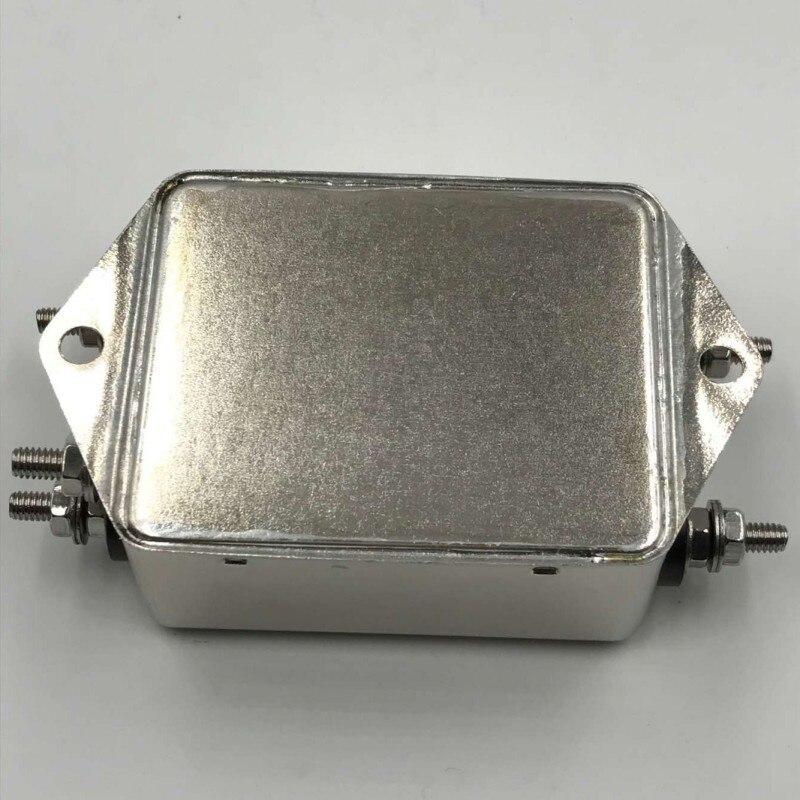 Фильтр постоянного тока 220 В анти-помех EMI разъем линейный источник питания очищает 12 В автомобиль Fever