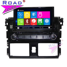 TOPNAVI Wince 6.0 Double Din 8″ Car Head Unit DVD Player Auto Video For Toyota Vios 2014- Stereo GPS Navigation Magnitol BT SD