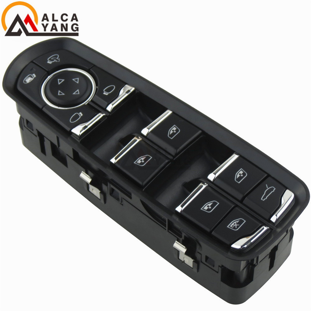 Front Door Mirror Window Control Switch Buttom For Porsche Panamera Cayenne Macan 2011  OE: 7PP959858AE 7PP 959 858AE-in Car Switches & Relays from Automobiles & Motorcycles    1