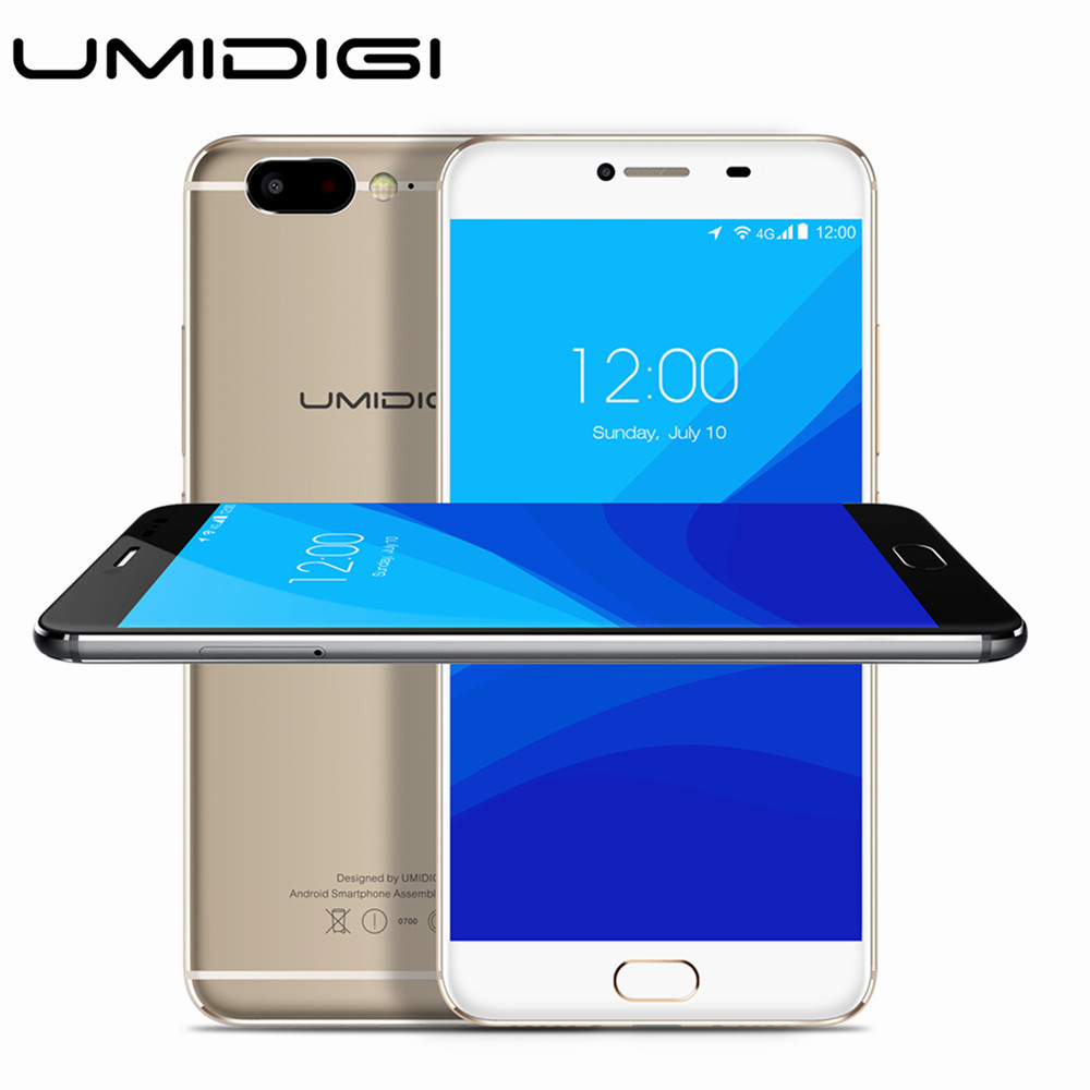UMIDIGI Z Deca core 5.5 inch 4GB RAM 32GB ROM MTK 1920*1080 Android 6.0 13MP Camera HD 4G SmartPhone