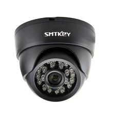 700TVL หรือ 1000TVL หรือ 1200TVL สี CMOS Night Vision กลางคืนกล้องวงจรปิดในร่มกล้อง SMTKEY Security กล้อง