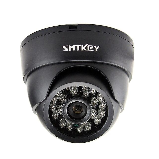 700TVL veya 1000TVL veya 1200TVL renkli CMOS gece görüş gündüz gece iç mekan CCTV kamera tarafından SMTKEY güvenlik kamera