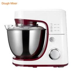 1200 W 4.2L 6 prędkości elektryczne do żywności do mieszalnik z trzepaczką mieszadło płaskie ciasta mikser w Miksery żywności od AGD na
