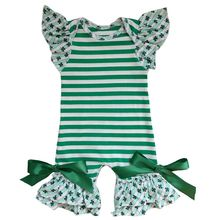 Baby Girl Holiday Icing Ruffle Romper