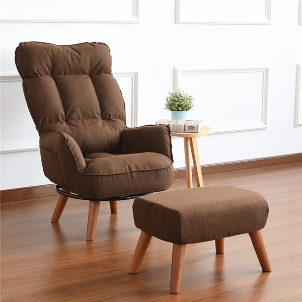 US $189.05 5% OFF|Aliexpress.com : Buy Contemporary Swivel Accent Arm Chair  Home Living Room Furniture Reclining Folding Armchair Sofa Low Swivel ...